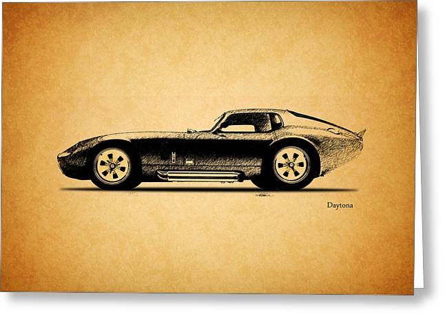 Carroll Shelby Photographs Greeting Cards - The Daytona 1965 Greeting Card by Mark Rogan