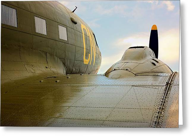 Dc3 Greeting Cards - The DC3 Dakota  Greeting Card by JC Findley