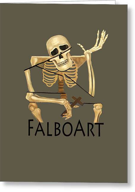 Coffin Greeting Cards - The Dead In Christ Praise  Greeting Card by Anthony Falbo