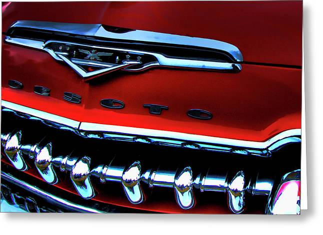 Desoto Car Greeting Cards - The DeSoto Greeting Card by David Patterson