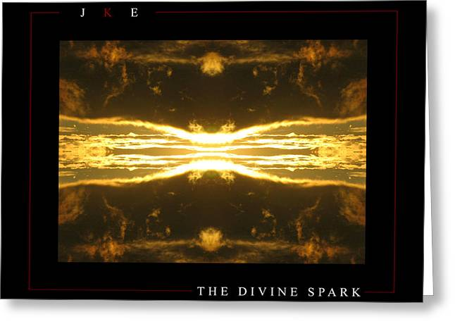 Divine Spark Greeting Cards - The Divine Spark Greeting Card by Jonathan Ellis Keys