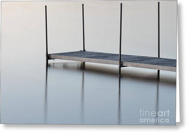 Boat Slip Greeting Cards - The Dock Greeting Card by Brian Mollenkopf