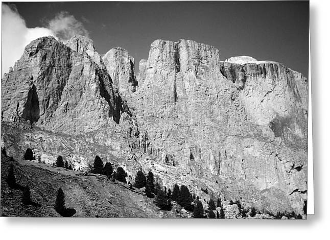 Wandern Greeting Cards - The Dolomites Greeting Card by Juergen Weiss