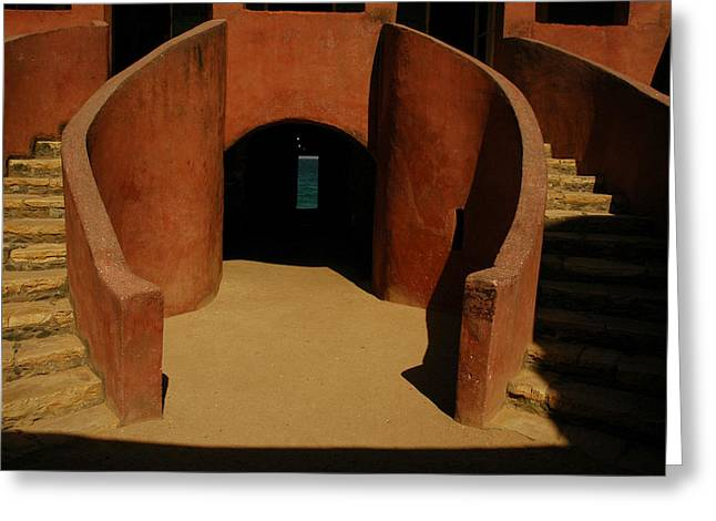 The Door Of No Return On Goree Island Greeting Card by Bobby Model