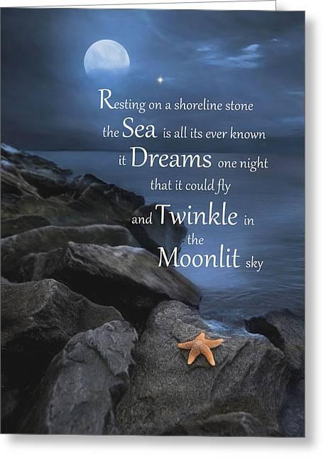 The Dream Greeting Card by Robin-lee Vieira