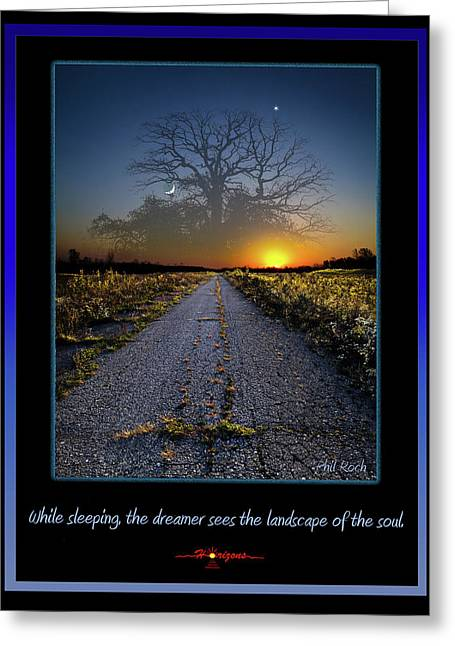 Best Sellers -  - Sunset Posters Greeting Cards - The Dreamer Greeting Card by Phil Koch