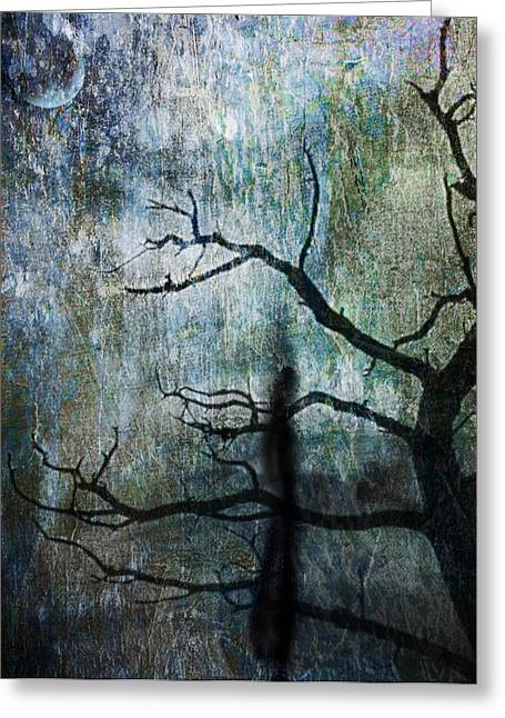 Mathew Greeting Cards - The Dreaming Tree Greeting Card by Ken Walker