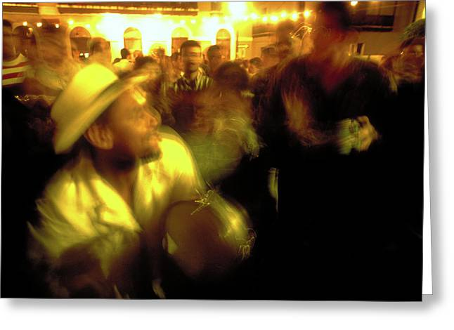 The Drummer Greeting Card by Michael Mogensen