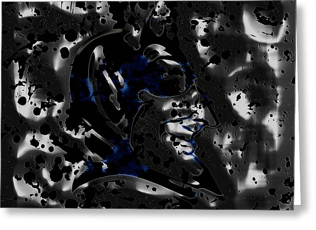 The Duke Blue Devils 1a Greeting Card by Brian Reaves