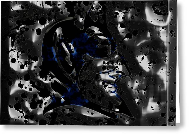 The Duke Blue Devils 1b Greeting Card by Brian Reaves