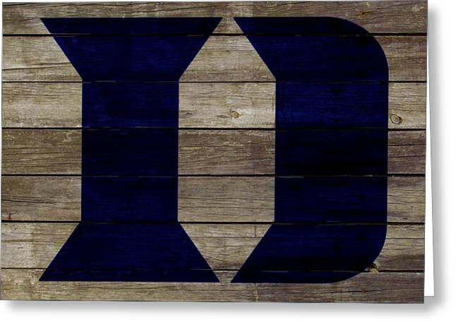 The Duke Blue Devils 2w Greeting Card by Brian Reaves