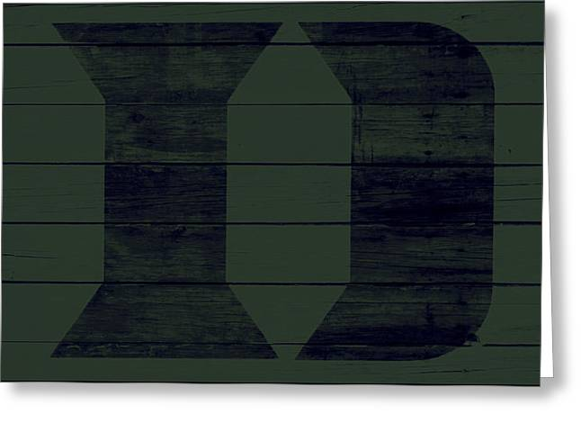 The Duke Blue Devils 4w Greeting Card by Brian Reaves