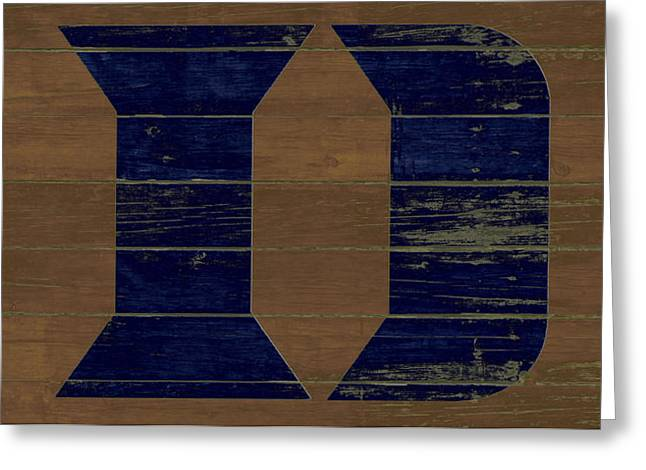 The Duke Blue Devils W1 Greeting Card by Brian Reaves