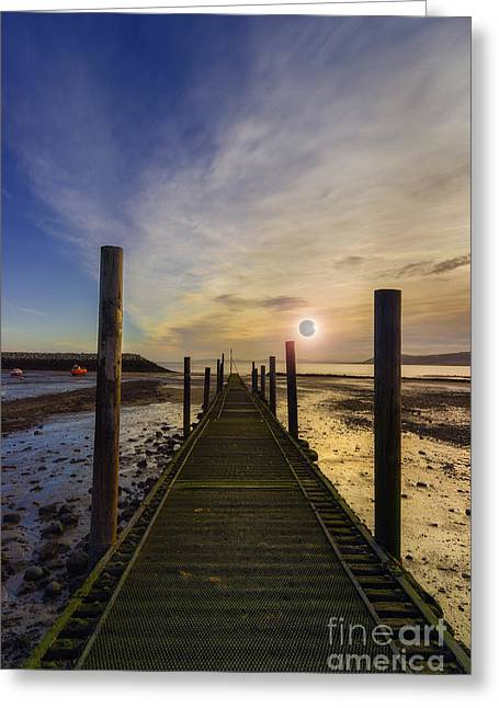 Solar Eclipse Greeting Cards - The Eclipse Greeting Card by Ian Mitchell