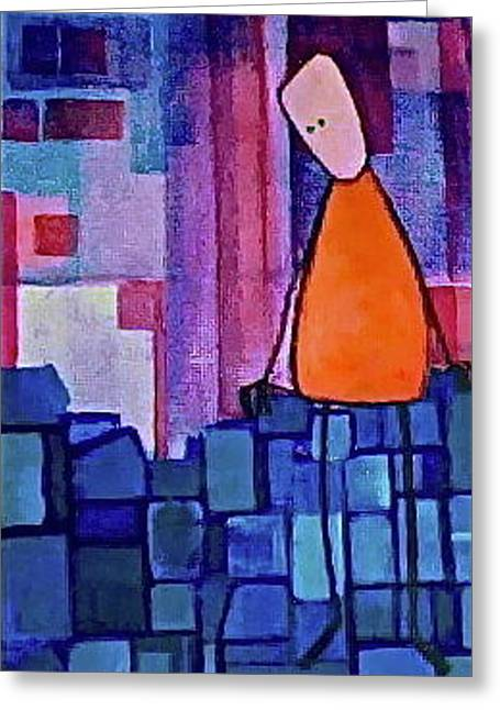 Divorce Greeting Cards - The Edge Greeting Card by Donna Howard