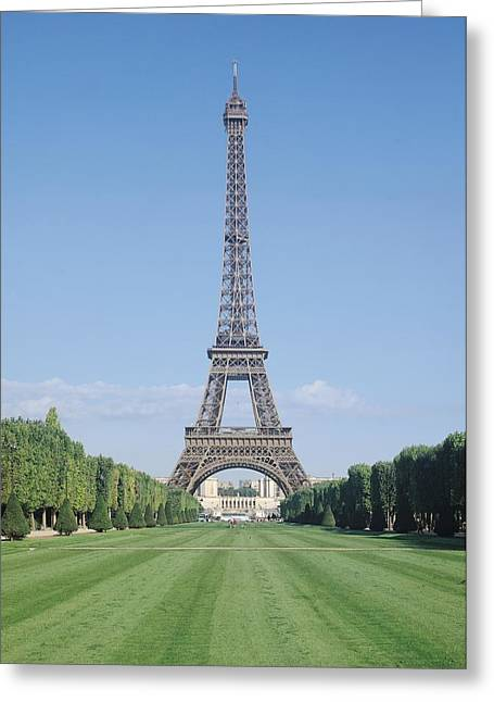 Gustave Photographs Greeting Cards - The Eiffel Tower Greeting Card by French School