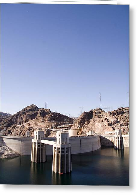 Greatest Generation Greeting Cards - The Electricity Source Of Las Vegas Greeting Card by Taylor S. Kennedy