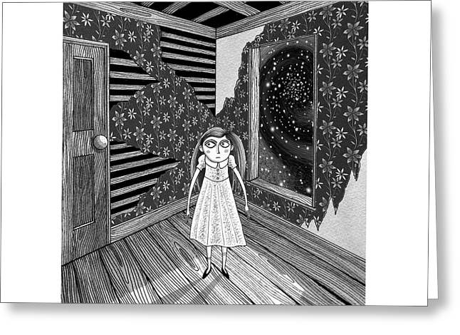 The Empty Room  Greeting Card by Andrew Hitchen