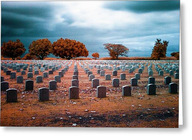 The End 2 Greeting Card by Skip Nall