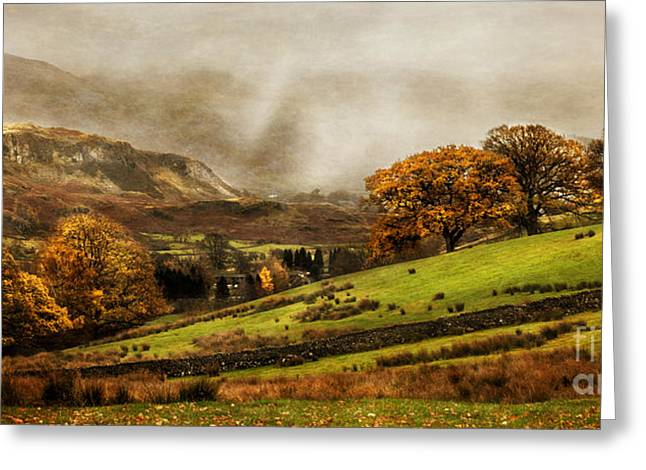 Scenic Greeting Cards - The English Lake District Greeting Card by Linsey Williams