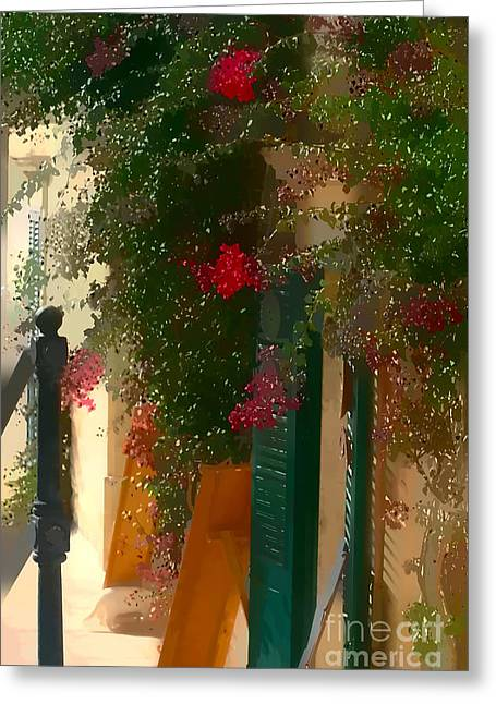 Artistic Photography Greeting Cards - The entrance Greeting Card by Tom Prendergast