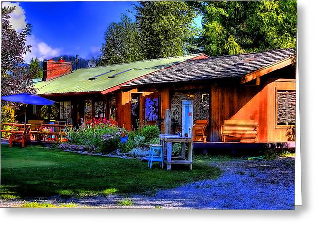 Hdr Landscape Greeting Cards - The Entree Gallery Greeting Card by David Patterson