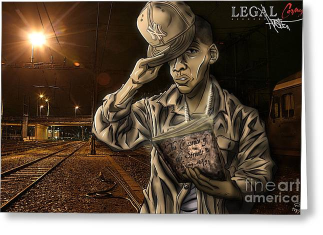 The Essence Of The Streets Greeting Card by Tuan HollaBack