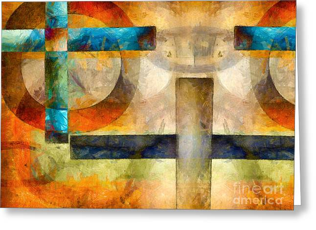 Horus Greeting Cards - The Eye of Horus  Greeting Card by Edward Fielding