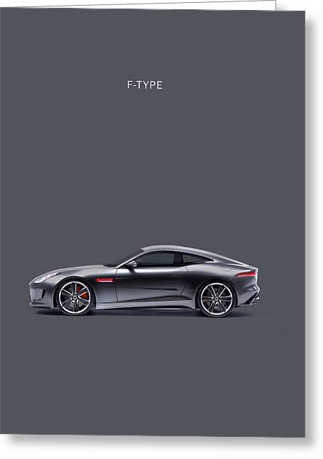 Jaguars Greeting Cards - The F Type Greeting Card by Mark Rogan