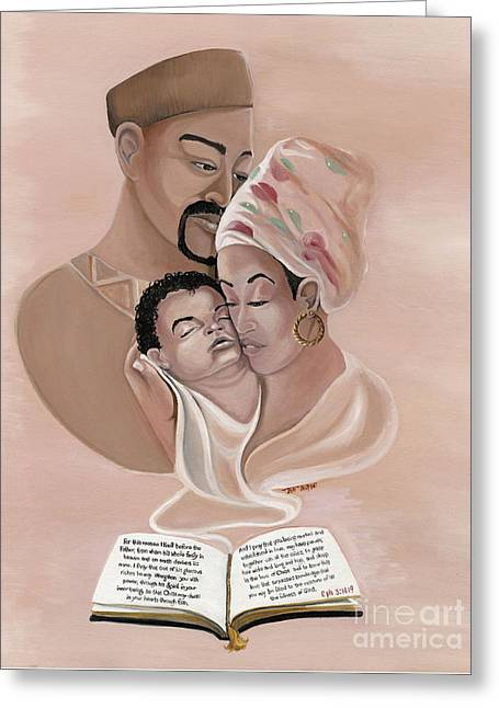 The Family Greeting Card by Toni  Thorne
