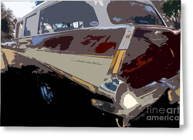Station Wagon Greeting Cards - The Family Wagon Greeting Card by David Lee Thompson