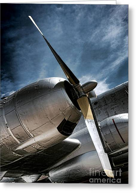 Fuselage Greeting Cards - The Farewell  Greeting Card by Olivier Le Queinec