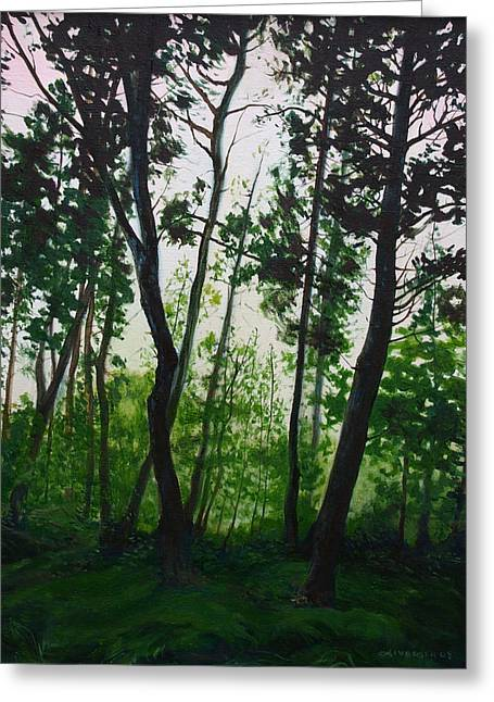 Fens Greeting Cards - The Fen Greeting Card by Jill Iversen