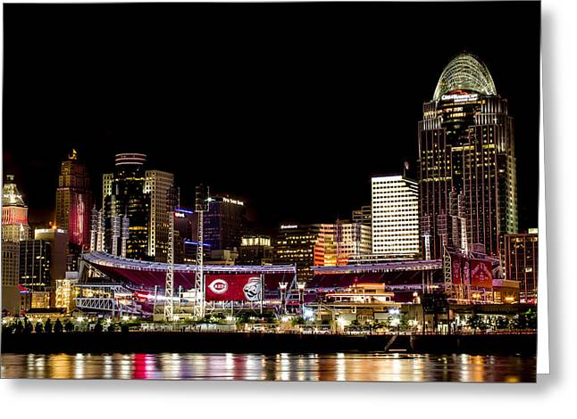 Greater Cincinnati Greeting Cards - The Finishing Touches Greeting Card by James Patterson