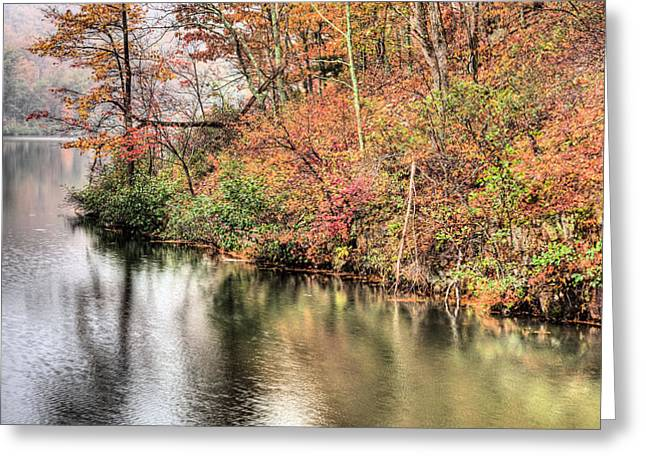 The Fishing Spot Greeting Card by JC Findley