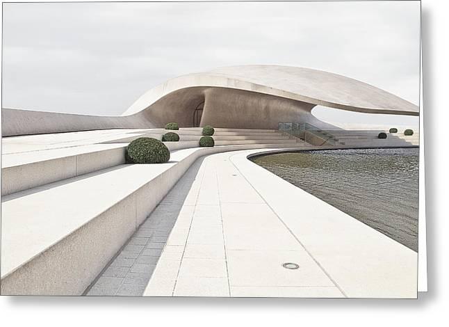 Pavilion Greeting Cards - The Flounder Greeting Card by Burghard Nitzschmann