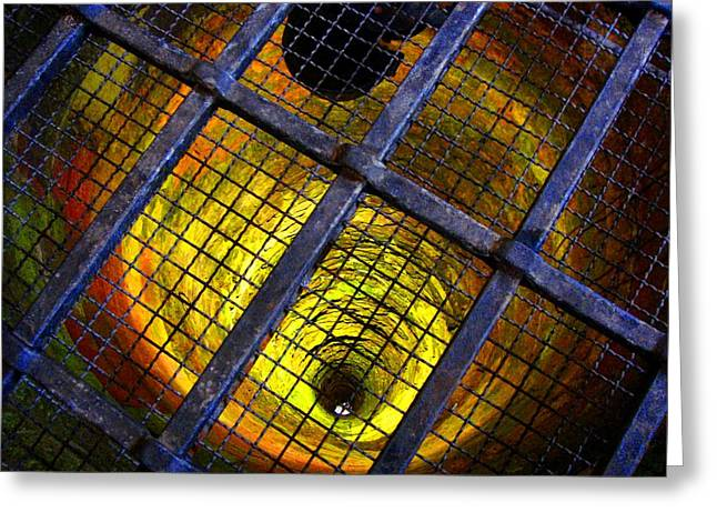 Roberto Alamino Greeting Cards - The Forbidden Well Greeting Card by Roberto Alamino