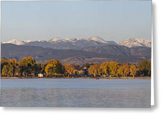 The Front Range Greeting Card by Aaron Spong