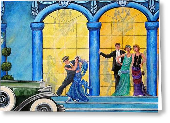 Prohibition Greeting Cards - The Gala Greeting Card by Sharon Kearns