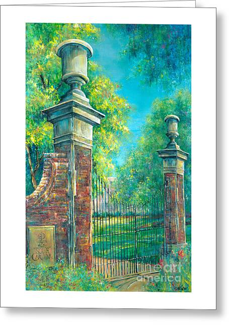 The Gates Of The Horseshoe II Greeting Card by Lindsey Fisher