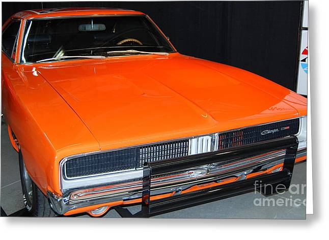 The General Lee Greeting Cards - The General Lee Greeting Card by Mark Spearman