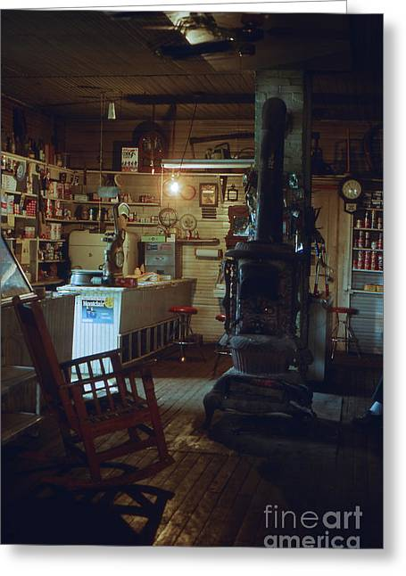 Southern Indiana Photographs Photographs Greeting Cards - The General Store Greeting Card by Lowell Anderson
