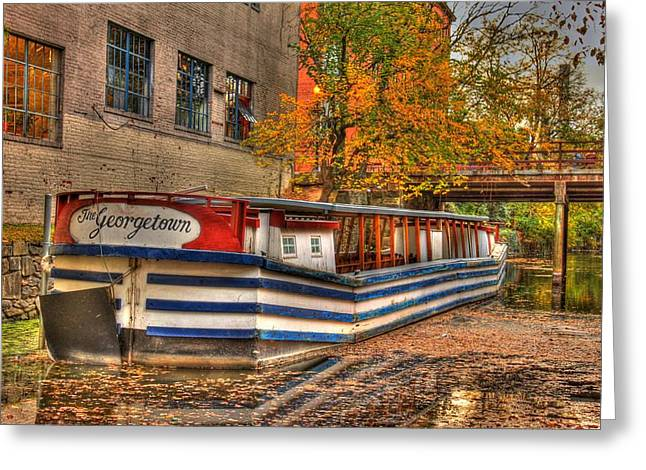 The Georgetown 2 Greeting Card by Brian Governale