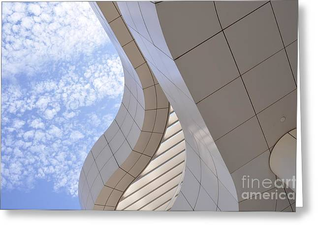 Clayton Greeting Cards - The Getty Greeting Card by Clayton Bruster