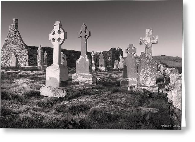 The Ghosts of Ireland Greeting Card by Robert Lacy
