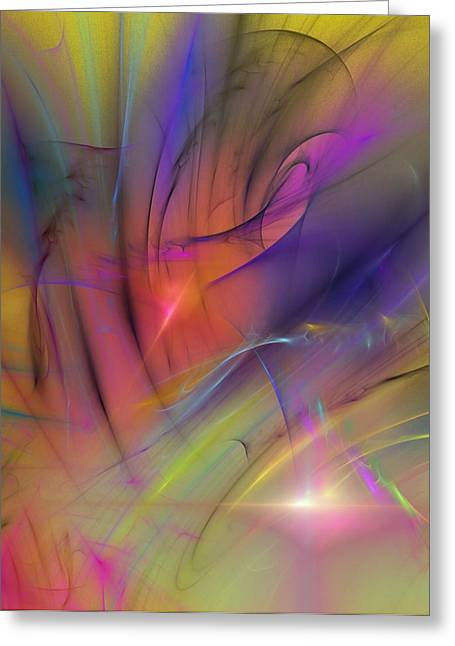 Best Sellers -  - Gloaming Greeting Cards - The Gloaming Greeting Card by David Lane
