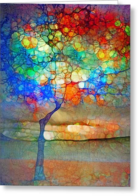 Forest Floor Digital Art Greeting Cards - The Globe Tree Greeting Card by Tara Turner