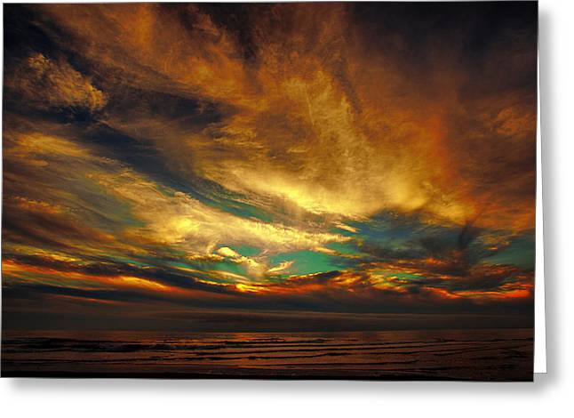 Lincoln City Greeting Cards - The Glory Greeting Card by James Heckt