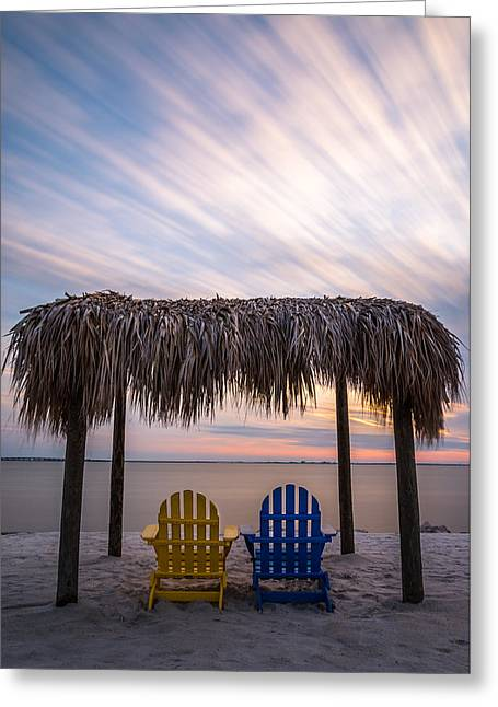 Tropical Beach Digital Greeting Cards - The Good Life Greeting Card by Clay Townsend