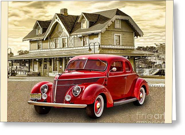 Arnie Goldstein Greeting Cards - The Good Old days Greeting Card by Arnie Goldstein